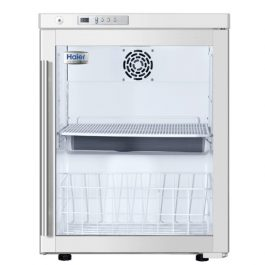 HYC-68A-small-benchtop-or-undercounter-pharmacy-refrigerator-glass-door
