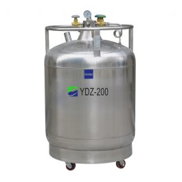 Self pressurized Series for LN2-Storage-and-Supply
