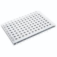 96-well PCR Plate 0.3 ml, semi-skirted (50)