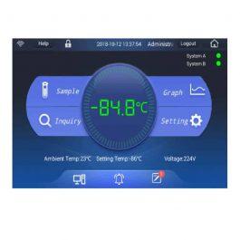 DW-86L579BPT Salvum Ultimate energy efficient ULT freezer with Touchscreen