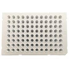 FastGene® white 96 well PCR Plate 0.1 ml-semi-skirted-50