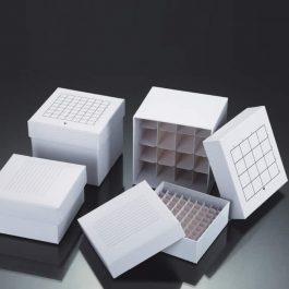 Freezing Cardboard Storage Box Pre-assembled Compartments