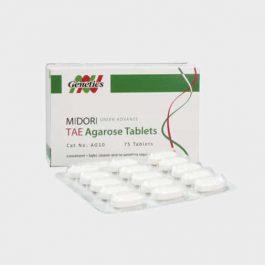 MIDORI Green Advance TAE Agarose Tablets (75)